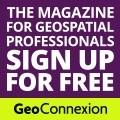 GeoConnecion Purple and Green Logo