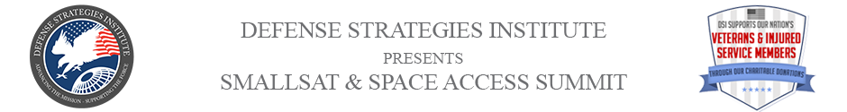 SmallSat & Space Access | DEFENSE STRATEGIES INSTITUTE